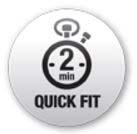 Εύκολη και γρήγορη τοποθέτηση αλυσίδων (μέσα σε 2 λεπτά)