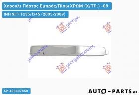 Χερούλι Πόρτας Εμπρός/Πίσω ΧΡΩΜ (Χ/ΤΡ.) -09 INFINITI Fx35/fx45 (2005-2009)