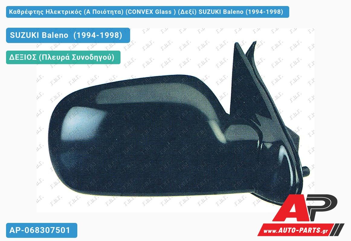 Καθρέφτης Ηλεκτρικός (Α Ποιότητα) (CONVEX Glass ) (Δεξί) SUZUKI Baleno (1994-1998)