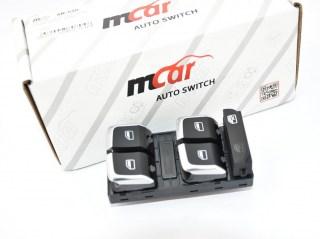 Διακόπτης Παραθύρου Μπροστά Mcar για AUDI A4, Α5, Q5