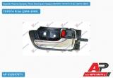 Χερούλι Πόρτας Εμπρός /Πίσω Εσωτερικό Χρώμιο/ΜΑΥΡΟ Δεξί TOYOTA Prius (2004-2009)