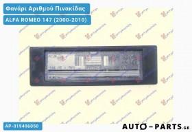 Φανάρι Αριθμού Πινακίδας ALFA ROMEO 147 (2000-2010)