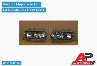 Ανταλλακτικά μπροστινά φανάρια / φώτα (set) - ALFA ROMEO 146 (1999-2001)
