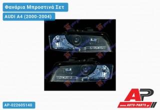 Ανταλλακτικά μπροστινά φανάρια / φώτα (set) - AUDI A4 (2000-2004)
