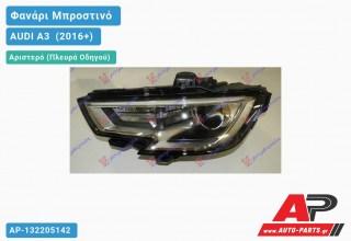 Ανταλλακτικό μπροστινό φανάρι (φως) - AUDI A3 [Sportback,3θυρο] (2016+) - Αριστερό (πλευρά οδηγού) - Xenon
