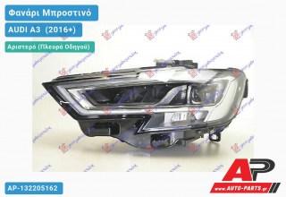 Ανταλλακτικό μπροστινό φανάρι (φως) - AUDI A3 [Sportback,3θυρο] (2016+) - Αριστερό (πλευρά οδηγού)