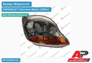 Ανταλλακτικό μπροστινό φανάρι (φως) - CHEVROLET Chevrolet Matiz (2005+) - Δεξί (πλευρά συνοδηγού)