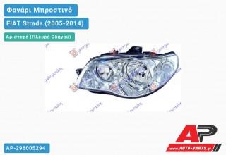 Ανταλλακτικό μπροστινό φανάρι (φως) - FIAT Strada (2005-2014) - Αριστερό (πλευρά οδηγού)