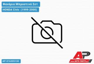 Ανταλλακτικά μπροστινά φανάρια / φώτα (set) - HONDA Civic [Hatchback] (1999-2000)