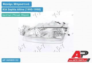 Ανταλλακτικό μπροστινό φανάρι (φως) - KIA Sephia Altiva (1995-1998) - Αριστερό (πλευρά οδηγού)