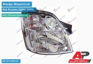 Ανταλλακτικό μπροστινό φανάρι (φως) - KIA Picanto (2004-2008) - Δεξί (πλευρά συνοδηγού)