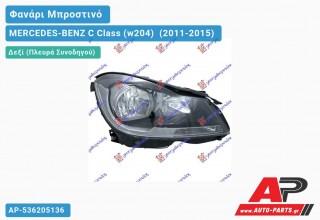 Ανταλλακτικό μπροστινό φανάρι (φως) - MERCEDES-BENZ C Class (w204) [Coupe] (2011-2015) - Δεξί (πλευρά συνοδηγού)