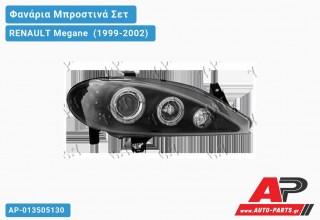 Ανταλλακτικά μπροστινά φανάρια / φώτα (set) - RENAULT Megane [Sedan] (1999-2002)