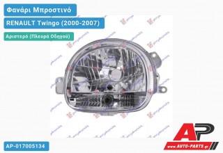 Ανταλλακτικό μπροστινό φανάρι (φως) - RENAULT Twingo (2000-2007) - Αριστερό (πλευρά οδηγού)