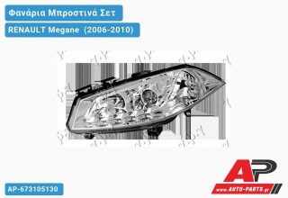 Ανταλλακτικά μπροστινά φανάρια / φώτα (set) - RENAULT Megane [Cabrio] (2006-2010)