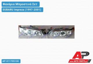 Ανταλλακτικά μπροστινά φανάρια / φώτα (set) - SUBARU Impreza (1997-2001)