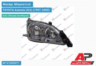 Ανταλλακτικό μπροστινό φανάρι (φως) - TOYOTA Avensis (t22) (1997-2003) - Δεξί (πλευρά συνοδηγού)