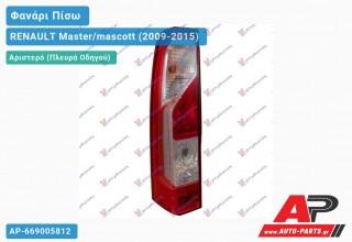 Ανταλλακτικό πίσω φανάρι Αριστερό (Πλευρά Οδηγού) για RENAULT Master/mascott (2009-2015)