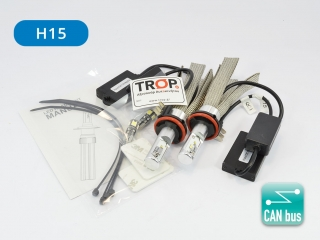 Set Λάμπες Αυτοκινήτου LED H15 με CAN bus - UNIVERSAL