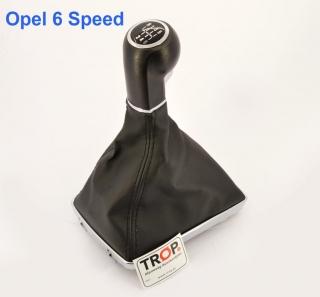 Λεβιές 6 Ταχυτήτων με Δέρμα συμβατό με Opel Astra GTC (Μοντέλα 1600 Κυβ) - Φωτογραφία τραβηγμένη από TROP.gr