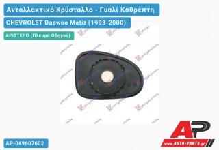 Κρύσταλλο Καθρέφτη (Αριστερό) CHEVROLET Daewoo Matiz (1998-2000)