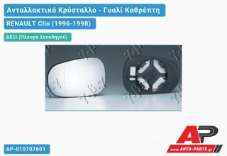 Κρύσταλλο Καθρέφτη (CONVEX Glass) (Δεξί) RENAULT Clio (1996-1998)