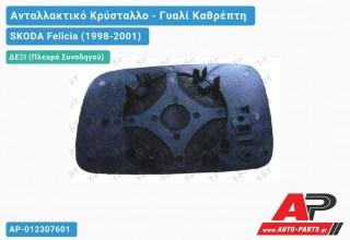 Κρύσταλλο Καθρέφτη (CONVEX Glass) (Δεξί) SKODA Felicia (1998-2001)