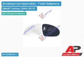 Κρύσταλλο Καθρέφτη ΘΕΡΜΑΙΝ (Δεξί) SMART Forfour (2004-2015)