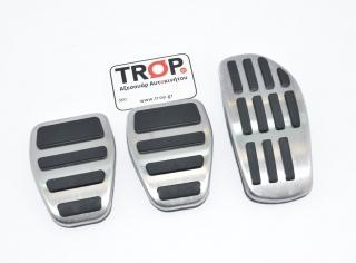 Διακοσμητικές Πεταλιέρες για Nissan X-Trail, Qashqai J11 και Renault Kadjar (Μηχανικό Κιβώτιο) – Φωτογραφία από Trop.gr