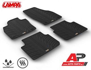 Lampa Su Misura Λαστιχένια Πατάκια ειδικά κατασκευασμένα στις διαστάσεις για το μοντέλο του αυτοκινήτου σας με διακριτικό άρωμα βανίλιας (προ-αρωματισμένο υλικό) - Διάθεση από το auto-parts.gr